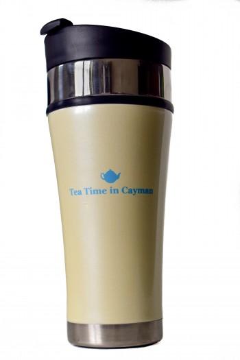 Tea Time in Cayman Tumbler (Pearl)