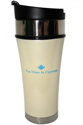 Tea Time in Cayman Tumbler (Pearl)